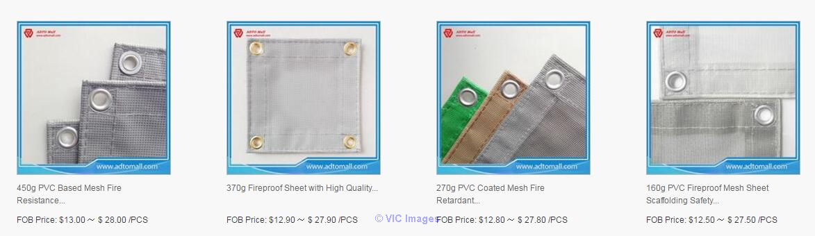 Leading Manufacturer in China of PVC Fireproof Mesh Sheet Toronto - GTA, Ontario Classifieds