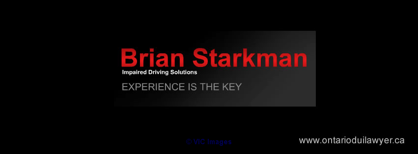 Certified drunk driving lawyer Ontario - Brian Starkman Toronto - GTA, Ontario Annonces Classées