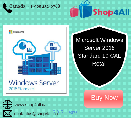 Microsoft Windows Server 2016 Standard 10 CAL Retail Toronto - GTA, Ontario Classifieds