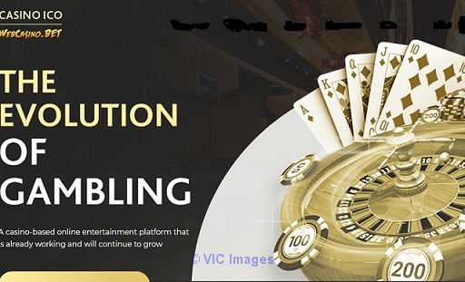 Casino starts doing ICO
