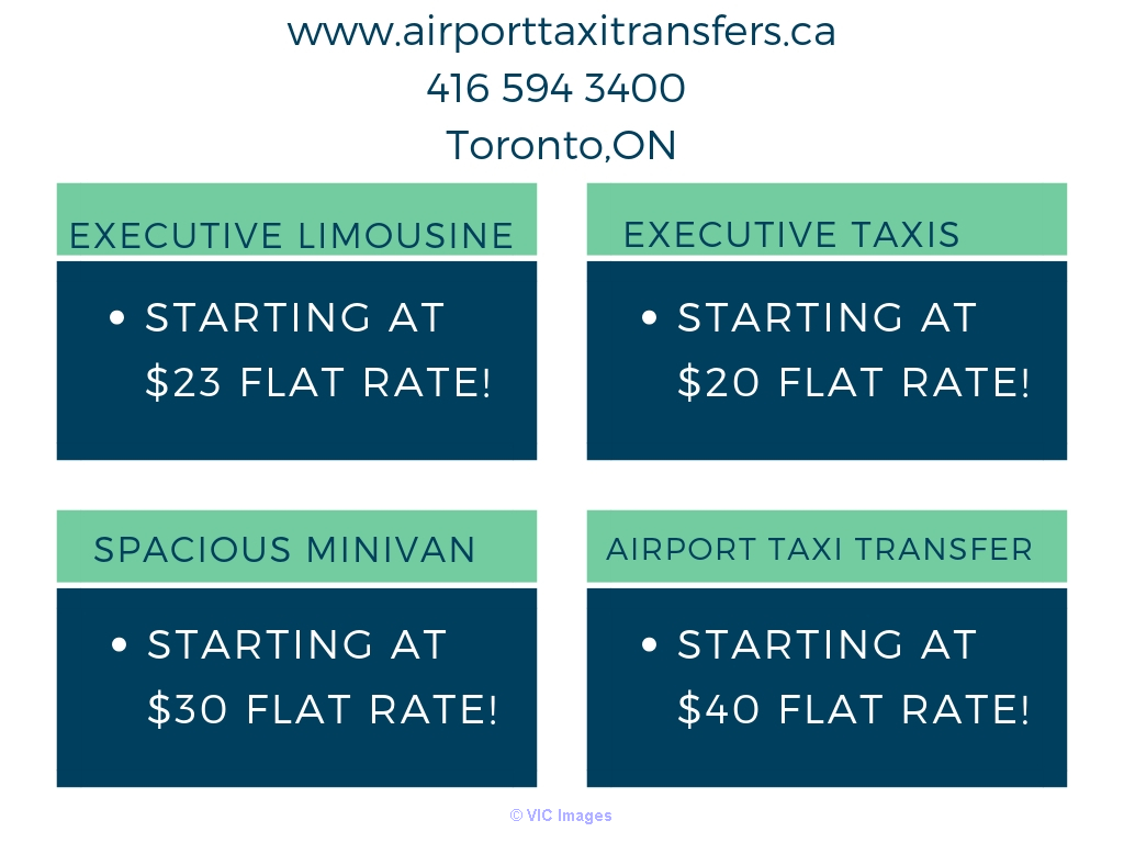 Why you choose airport taxi transfers service from us ? toronto
