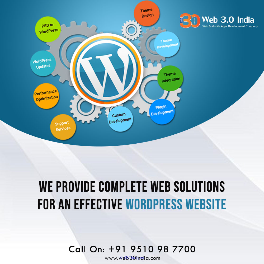 WordPress Development Service in Canada | Web 3.0 India |