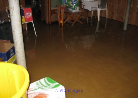 Flooded Basement Cleanup Services by Canada's Restoration Services toronto