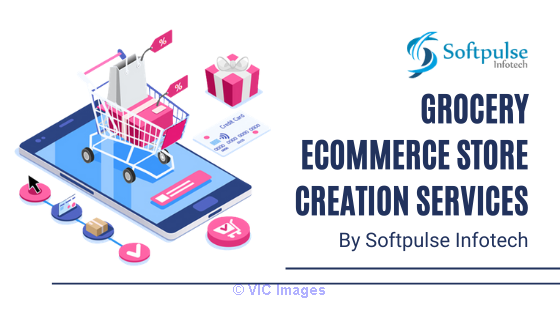 Get the Grocery Ecommerce Store Creation Service from Softpulse Infote
