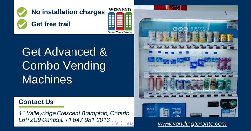 No installation charges get advanced vending machines in Toronto